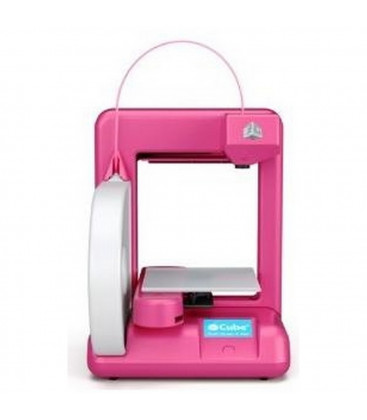 3D Systems Cube 3D Printer 2nd Gen Magenta