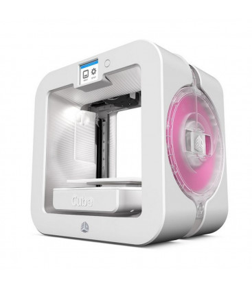 3D Systems Cube 3D Printer 3rd Gen White