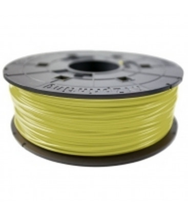 XYZprinting ABS Filament Cartridge 1.75mm Cyber Yellow Refill