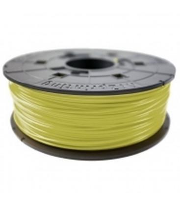 3D XYZprinting ABS Filament Cartridge 1.75mm Cyber Yellow Refill