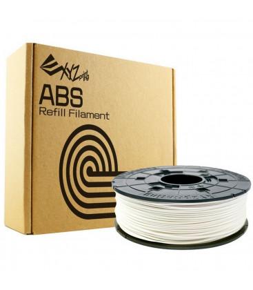 3D XYZprinting ABS Filament Cartridge 1.75mm Snow White Refill