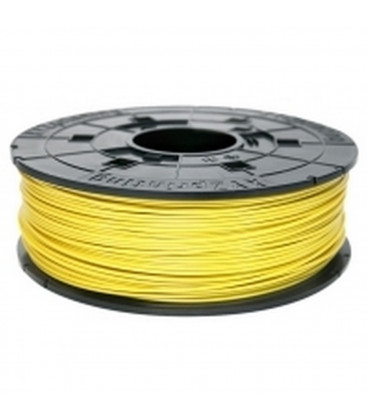 3D XYZprinting ABS Filament Cartridge 1.75mm Yellow Refill