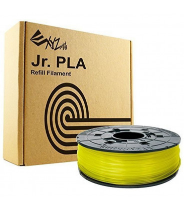 XYZprinting PLA Filament Cartridge 1.75mm Yellow Junior