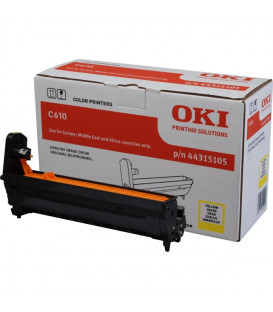 Genuine Oki 44315105 Yellow Drum Unit