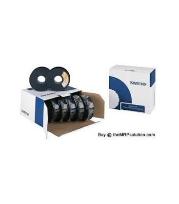 Genuine Printronix 107675-001 Black Ribbon x 6