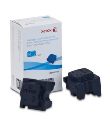 Genuine Xerox 108R00995 Cyan Ink Sticks x 2