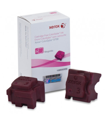 Genuine Xerox 108R00996 Magenta Ink Sticks x 2