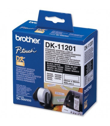 Genuine Brother DK-11201 Standard Address Labels x 400