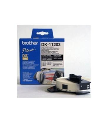 Genuine Brother DK-11203 File Folder Labels x 300