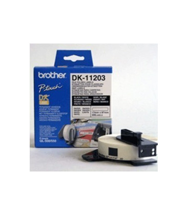 Genuine Brother DK-11203 File Folder Labels x 300