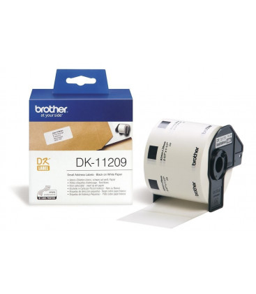 Genuine Brother DK-11209 Small Address Labels x 800