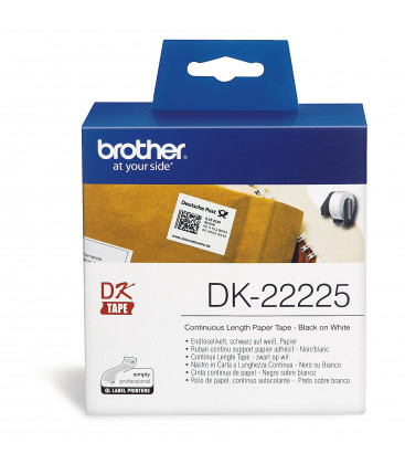 Genuine Brother DK-22225 Paper Tape