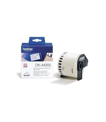 Genuine Brother DK-44205 Removable White Paper Tape