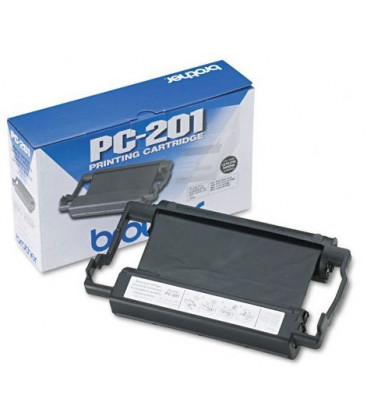 Genuine Brother PC201 Ribbon Cartridge