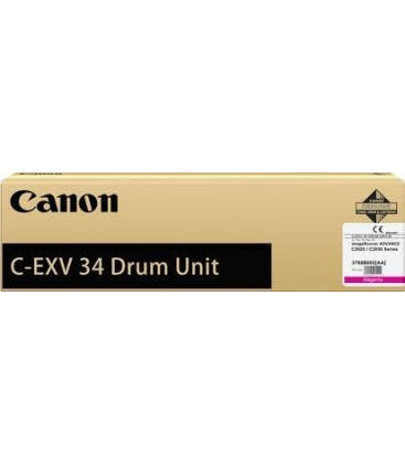 Genuine Canon C-EXV34 3789B003 Yellow Drum Unit