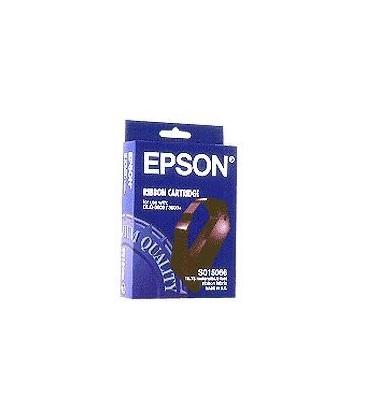 Genuine Epson C13S015066 Black Fabric Ribbon