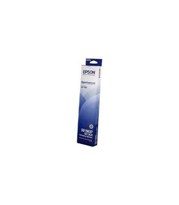 Genuine Epson C13S015637 Black Fabric Ribbon