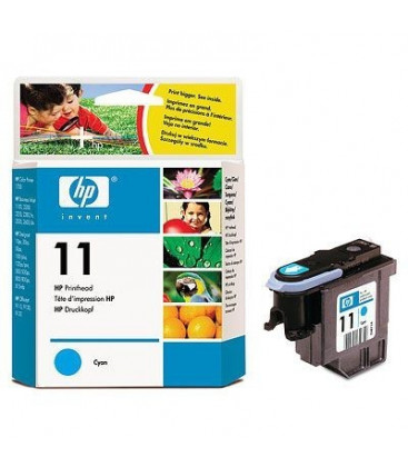 Genuine HP 11 C4811A Cyan Printhead