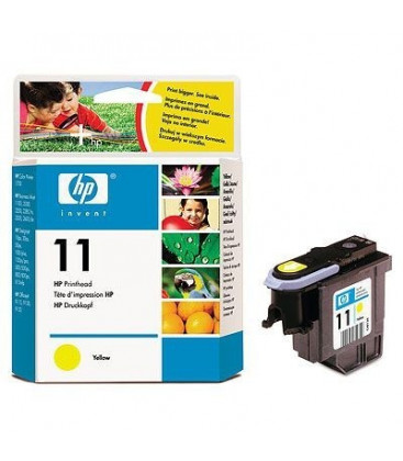 Genuine HP 11 C4813A Yellow Printhead