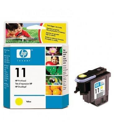 Genuine HP 11 C4813A Yellow Printhead