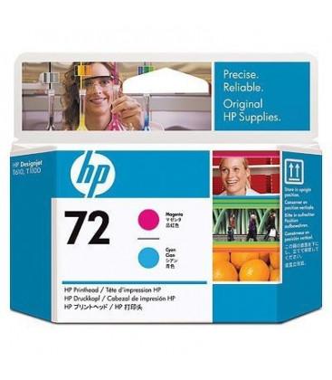 Genuine HP 72XL C9383A Magenta/Cyan Printhead