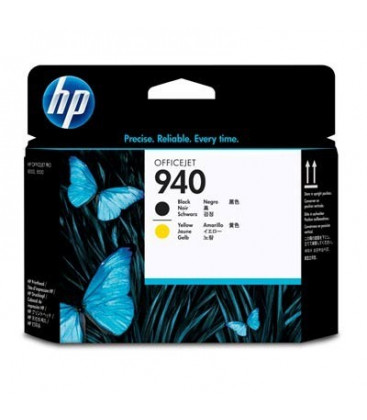 Genuine HP 940 C4900A Black Yellow Printhead
