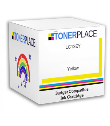Budget Compatible LC12EY Yellow Ink