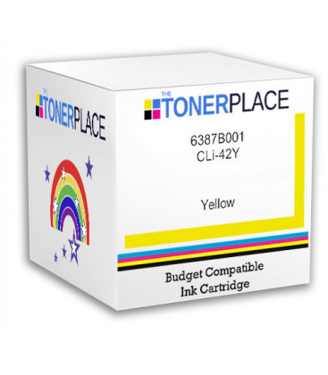 Budget Compatible Canon CLi-42 6387B001 Yellow Ink