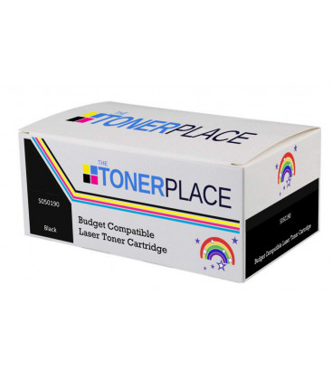 Budget Compatible Epson S050190 Black Toner