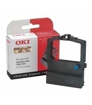 Genuine Oki 09002303 Black Ribbon