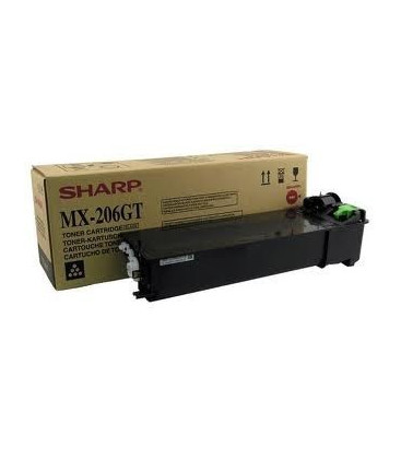 Genuine Sharp MX-206GT Black Toner