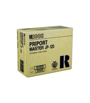 Genuine Ricoh Priport JP12S 817534 A4 Masters x 2