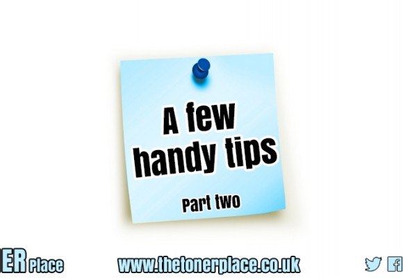 Handy tips - part two