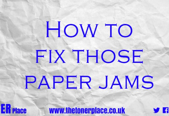 How to fix those paper jams