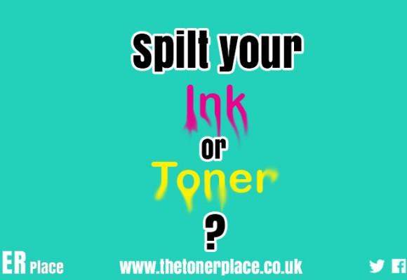 Spilt ink or toner?