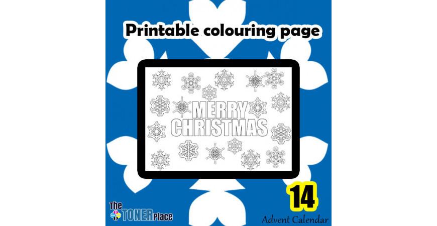 Printable Colouring page